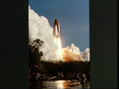 View of the launch of Discovery 41-D mission