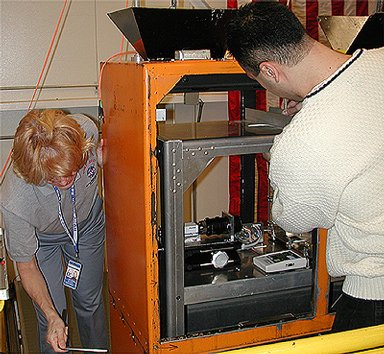 Dropping In a Microgravity Environment (DIME) contest