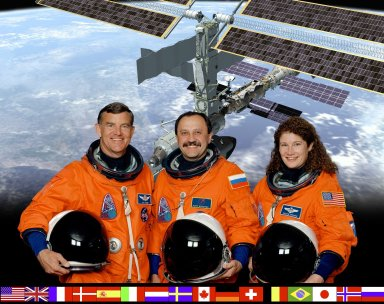 International Space Station Expedition Two