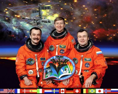 International Space Station Expedition Three Crew