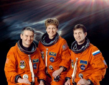 International Space Station (ISS) Expedition Five Crew