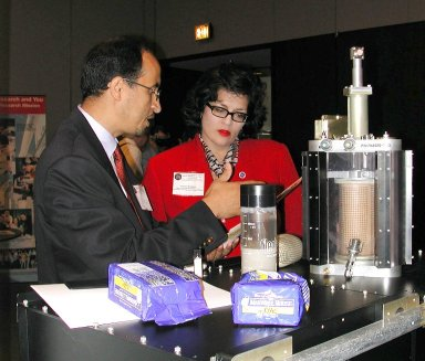 Kriston Erikson learns about the MGM-III experiment