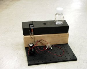 Student-Designed Fluid Experiment for DIME Competition