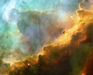 Hubble Space Telescope Image of Omega Nebula
