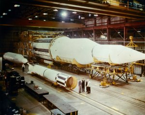 Dr. Wernher von Braun Presents Saturn C-1 Progress for the Senate Committee of Aeronautical and Space Sciences