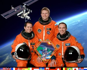 International Space Station Expedition Four Crew