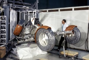 Deployment Simulation of the Lunar Roving Vehicle