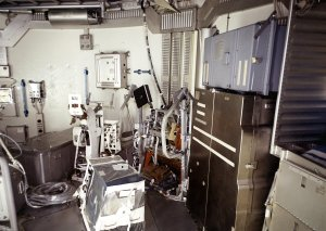 The Skylab Orbital Workshop Experiment Area