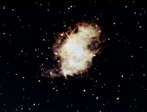Crab Nebula in Visible Light
