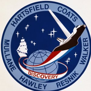 STS-41D Mission Insignia