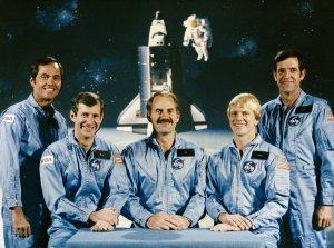 STS-41C Crew Portrait