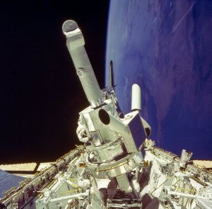 Spacelab-2 Onboard Photograph, Instrument Pointing System
