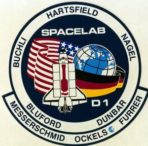 STS-61A Mission Insignia