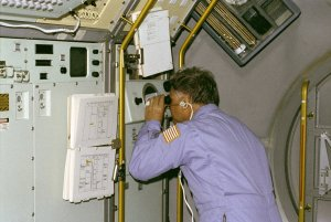 Spacelab-3 (STS-51B) Onboard Photograph