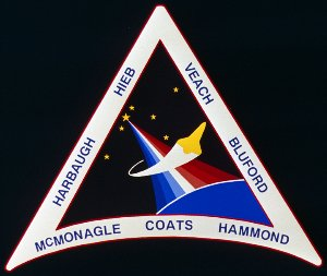 STS-39 Mission Insignia