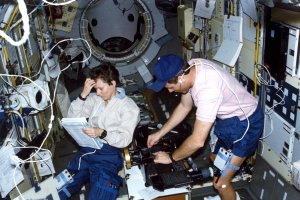 STS-42 Onboard Photo