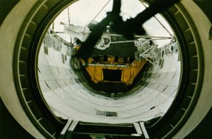 Akers and Thornton Viewed Through Endeavour Airlock
