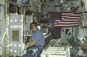 STS-50 USML-1, Onboard Photograph