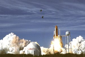 Columbia (STS-62) launch