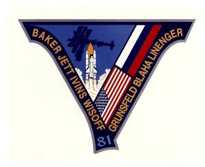 STS-81 Mission Insignia