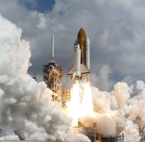 Space Shuttle STS-78 Columbia launch