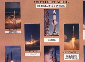 Saturn Missions and Configurations Chart