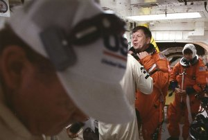 Preparing for Liftoff of Space Shuttle Columbia STS-94