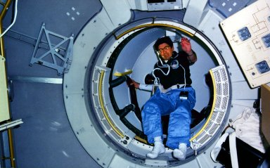 STS-51B Onboard Photo
