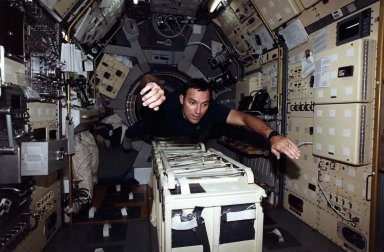 Onboard STS-65