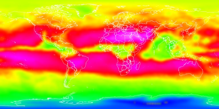 HoloGlobe: Outgoing Longwave Radiation for 1988 on a Flat Earth