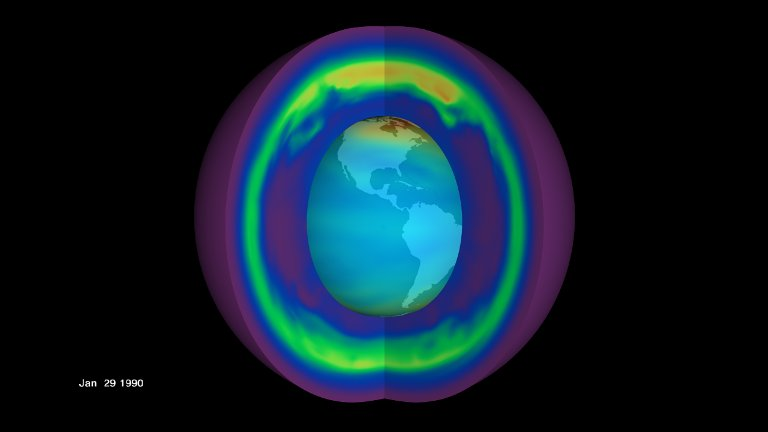 TOMS Ozone Holds Key to Ozone Trends (with Dates)