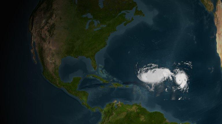 Hurricane Isabel 2003 Progression Images