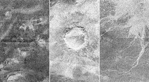 New Titan Radar Images from Cassini
