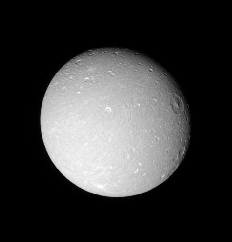 Detail on Dione (Monochrome)