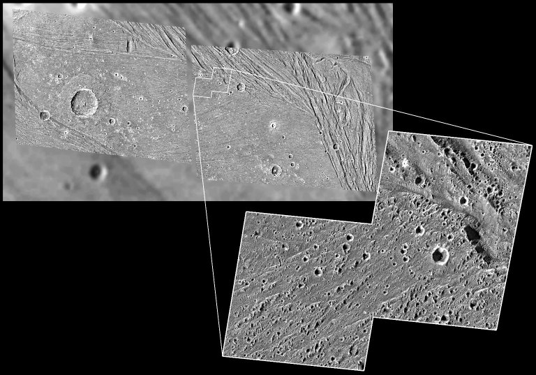 Not-so-smooth bright terrain of Harpagia Sulcus