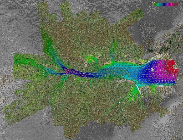 Lambert Glacier Velocity Map