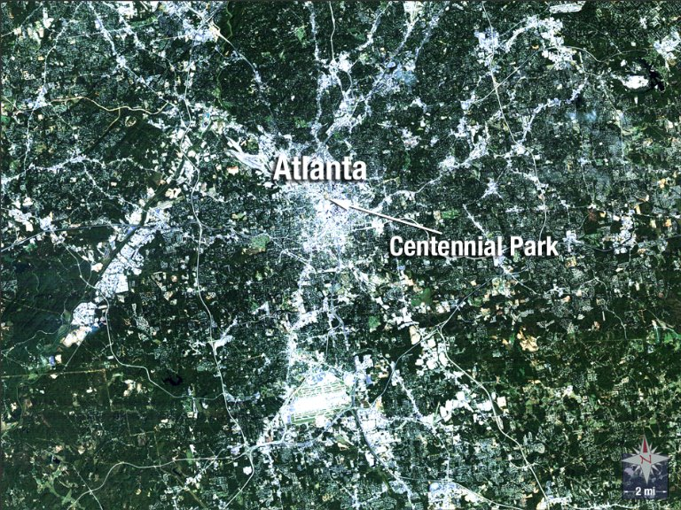 Atlanta Hosts the Summer Games