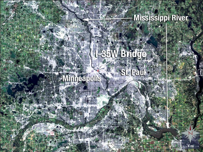 Interstate Bridge Collapses