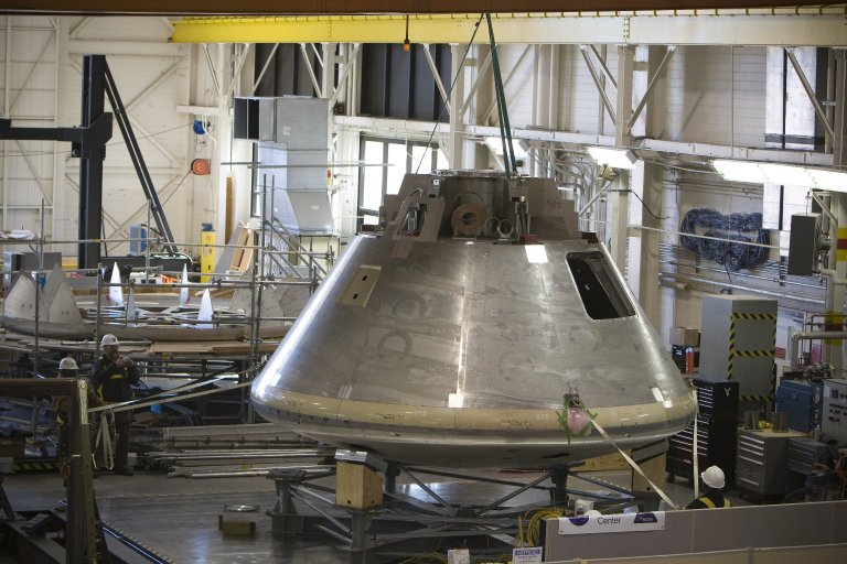 ORION CREW MODULE NASA LANGLEY