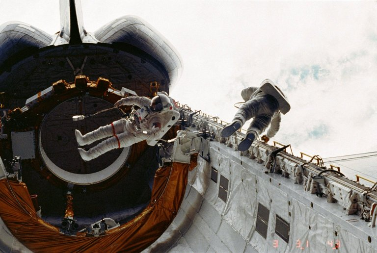 Space Shuttle -- April 1983