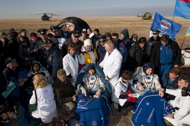 Expedition 20 Comes Home