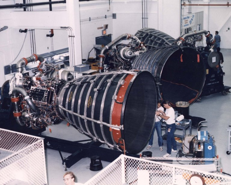 Space Shuttle Main Engine Processing