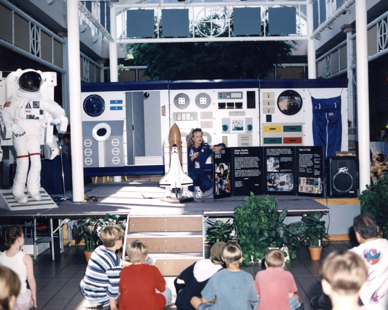 Visitors Center Educational Programs (Living and Working in Space)