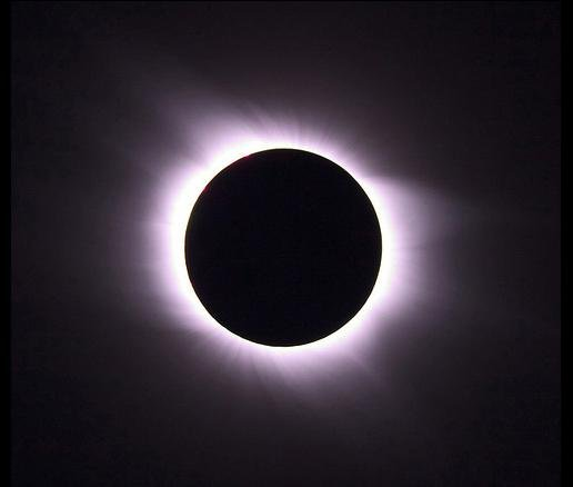 2008 Solar Eclipse at Totality