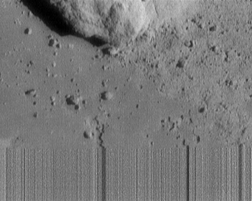 NEAR Spacecraft Survives Landing on Asteroid Eros