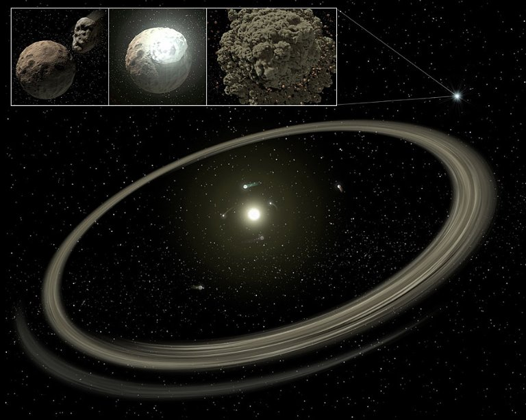 Old Planetary Dust Disks Found by SST