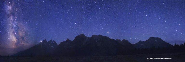 A Spectacular Sky Over the Grand Tetons