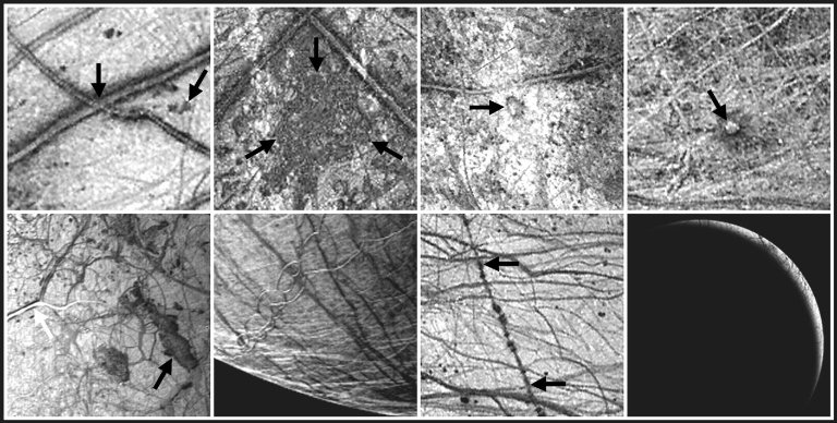 Ice Cusps on Europa