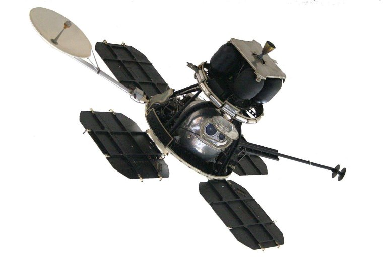 Lunar Orbiter Spacecraft