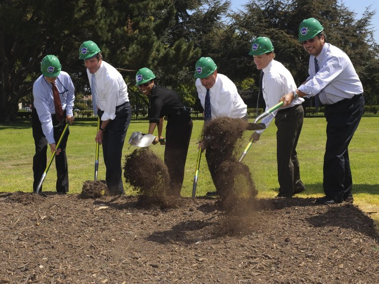 Sustainability Base Groundbreaking